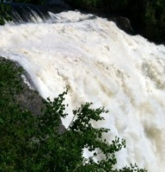 MontMorency falls and bridge